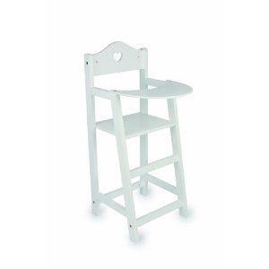 Legler 2857 - Chaise haute pour poupées