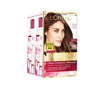 L'Oréal Excellence Crème 5.15 Marron Glacé