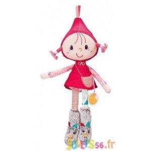 Lilliputiens Mini poupée Chaperon rouge (30 cm)