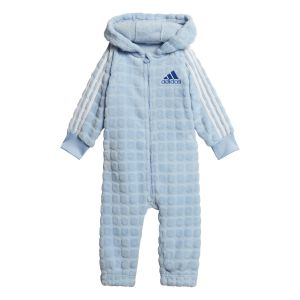 Adidas Survêtements Warm Onesie Infant - Bright Blue / Blue / White - Taille 104