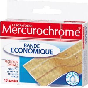 Mercurochrome Bande Economique - Pansements, 6 bandes de 10 cm