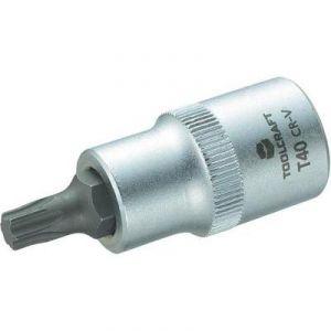 """Toolcraft Douille de 12,5 mm (1/2"""") avec embout Torx T40 de 55 mm"""