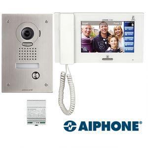 Aiphone kit interphone vidéo encastré JPS4AEDF - 130319