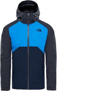 The North Face Stratos Blouson de Sport Homme Gris FR : L (Taille Fabricant : L)