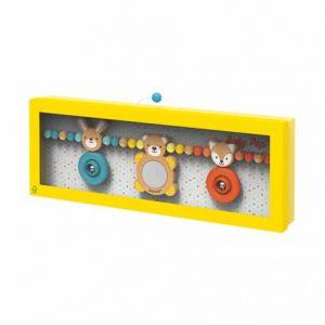 Janod Boulier Baby Pop (Bois et Silicone), J04611, Multicolore