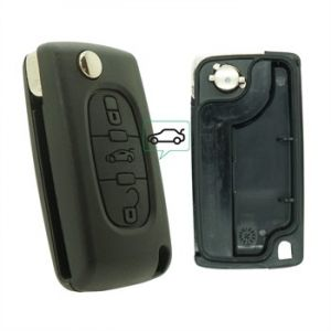 Neoriv Coque de clé télécommande PSA378C
