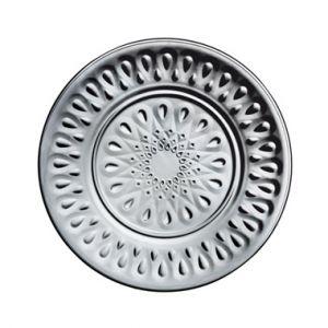 La Rochère Assiette anthracite plate ronde en verre Ø 26cm Lot de 6 Lyonnais