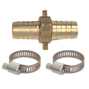 Raccord en laiton pour tuyau d'arrosage 3 pièces 26 x 34 mm diamètre 25 mm Fitt