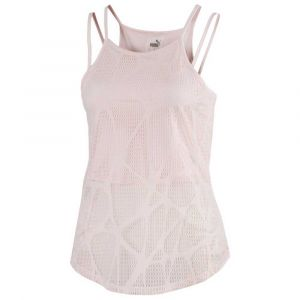 Puma Tshirt Studio Strappy Lace Rose - Taille M