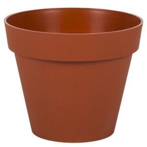 Eda Plastiques Pot gamme Toscane orange Ø 20 cm