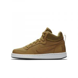 Image de Nike Chaussure Court Borough Mid pour Enfant plus âgé - Marron Taille 38.5