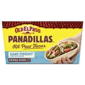 Old el paso Kit pour Tacos avec Panadillas recette douce