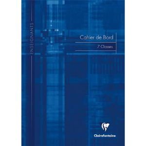 Clairefontaine Cahier de bord 72 pages (210 x 297 mm)