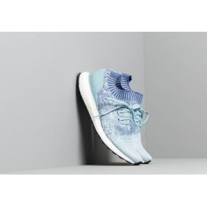 Adidas UltraBOOST Uncaged Ash Grey/ Active Blue/ Shock Red