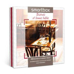Smartbox Bistrots et bonnes tables - Coffret cadeau 270 repas
