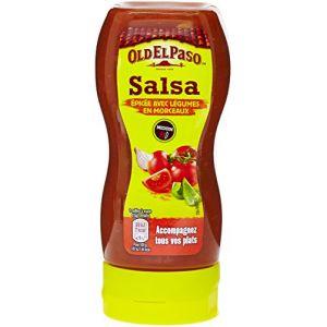 Old el paso Sauce Mexicaine Salsa Epicée avec Lgumes en Morceaux 295 g