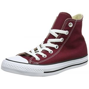Converse Chuck Taylor All Star Core Hi, Baskets mode mixte adulte - Rouge (Bordeaux), 42 EU