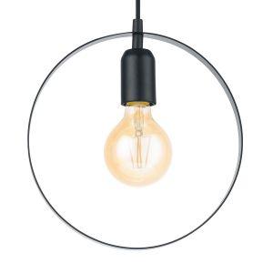Eglo Lampe suspendue BEDINGTON 25 cm Noir 49784