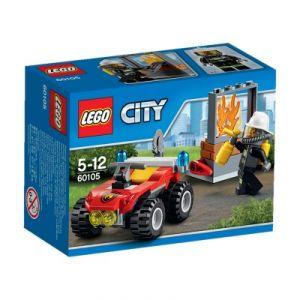 Lego 60105 - City : Le 4x4 des pompiers