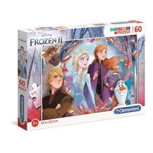 Clementoni Puzzle SuperColor La Reine des Neiges 2 - 60 pièces