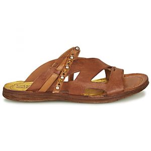 Image de A.S.98 Mules Airstep / RAMOS MULE Marron - Taille 36,37,38,39