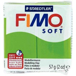 Image de Fimo Pâte à cuire Soft, vert pomme, 56 g
