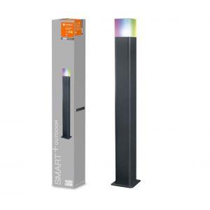 Ledvance Applique LED extérieure 9.5 W x LED intégrée SMART+ CUBE MULTICOLOR 80CM Post 4058075478176 gris foncé, blanc 1 pc(s)