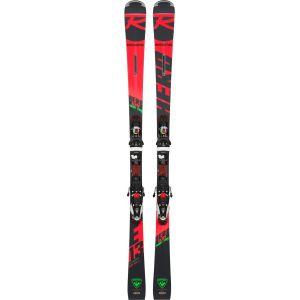 Rossignol Pack Ski HERO ELITE ST TI + Fixations NX 12 K Dual 2019 Rouge - Homme