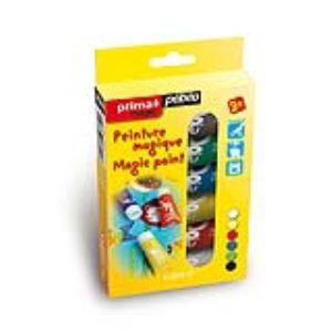 Pebeo 6 tubes de peinture magique Prima Magic