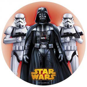 Disque de décoration en sucre Star Wars (16 cm)