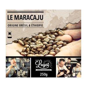 Cafés Lugat Café moulu pour cafetière Hario/Chemex : Le Maracaju (anciennement Santa Claus) - Mélange Gourmand - 250g
