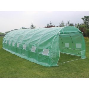 Viva Green Althea - Serre tunnel de jardin 24m² (8 x 3 x 2 m)