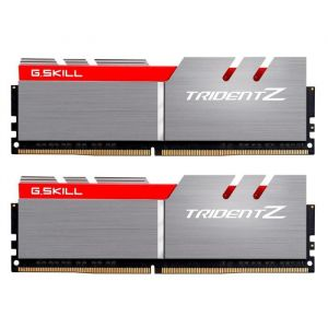 G.Skill Trident Z 16 Go (2x 8 Go) DDR4 4266 MHz CL19 gris / Rouge