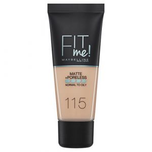 Maybelline Fit Me! Matte and Poreless Foundation 115 Ivory
