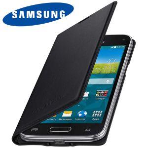 Samsung EF-FG800BKEG - Étui à rabat pour Galaxy S5 mini