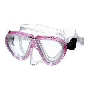 Seacsub SEAC Masque de Plongée Procida Silter Clear - Junior/Enfant - Rose
