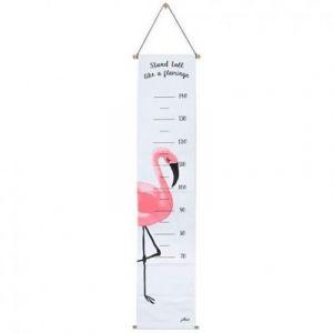 Jollein Toise à suspendre en toile Flamant rose