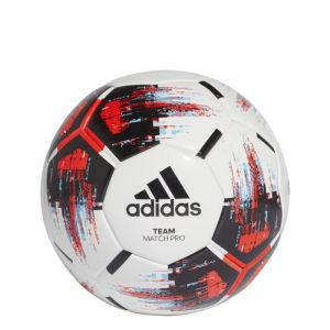 Adidas Ballon Team Match Pro Matchball Blanc Rouge Noir