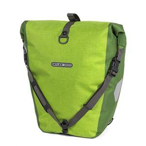 Ortlieb Back-Roller Plus QL2 Sacoche pour Porte Bagages Vélo pour adulte1 Paire M Vert - Limone-Moosgrün