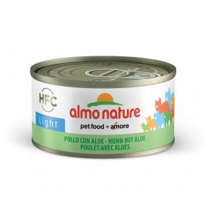 Almo Nature Nature Chat Hfc Light Poulet Aloe – Boîte, 70 g