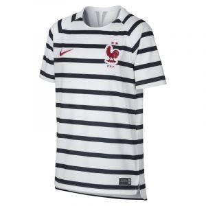 Nike Haut de football FFF Dri-FIT Squad pour Enfant plus âgé - Blanc - Couleur Blanc - Taille S