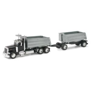 New Ray 10573 - Camion Peterbilt 387 Twin Dumps - 1/32