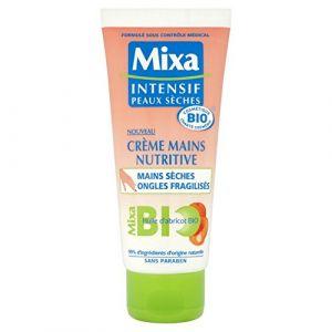 Mixa Crème Mains Nutritive - Huile d'abricot Bio