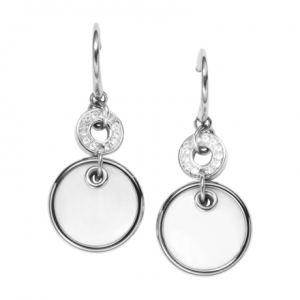 Fossil JF00551040 - Boucles d'oreilles en acier pour femme