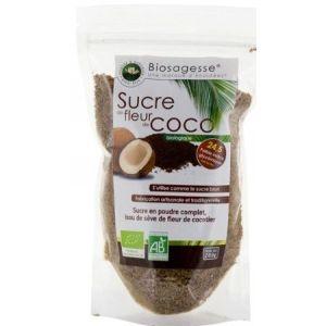 Ecoidées Sucre de sève de fleur de cocotier en poudre bio - 200 gr