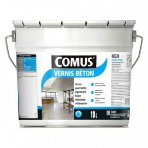 Comus Vernis beton - aspect ciré incolore - haute résistance - 3 litres