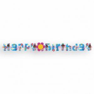 Guirlande Happy Birthday Docteur la peluche