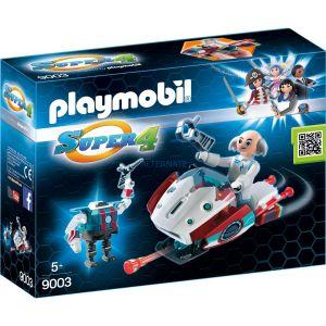 Playmobil 9003 Super 4 - Sky Jet et Docteur X