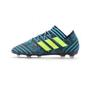 Adidas Nemeziz 17.2 FG, Chaussures de Football Homme, Multicolore (Tinley/Amasol/Azuene), 40 EU