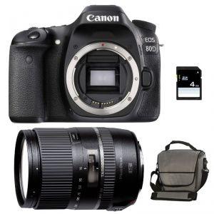 Canon EOS 80D (avec objectif Tamron 16-300mm)
